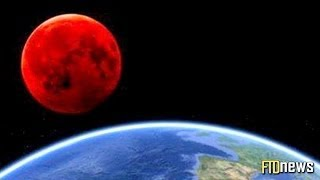Moon Turns Into Blood (April 15, 2014) Tetrad Eclipse