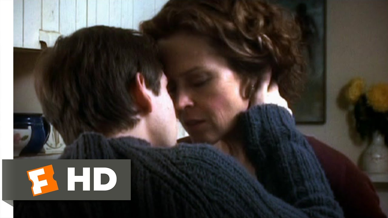 Hot Step Mom Kisses Son