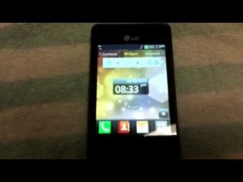 Tracfone LG 840g Review Part 2 - YouTube