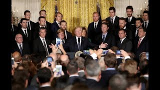 Stanley Cup Champion Pittsburgh Penguins honored at White House