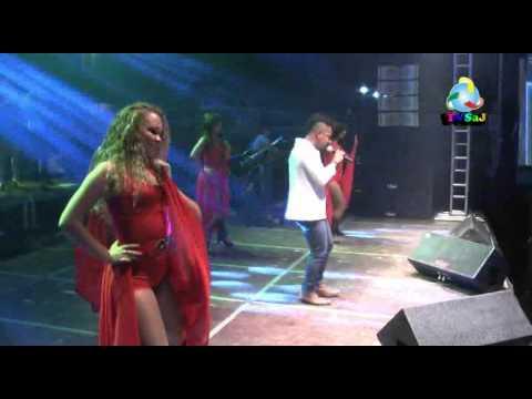 Renato Rocha e Andrea Nery, na Feira de Caxixi, Nazaré das Farinhas, 19.04.14