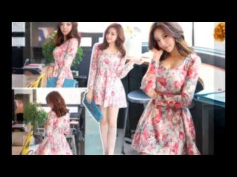 Korean Fashion Style Dress Spring & Summer 2014