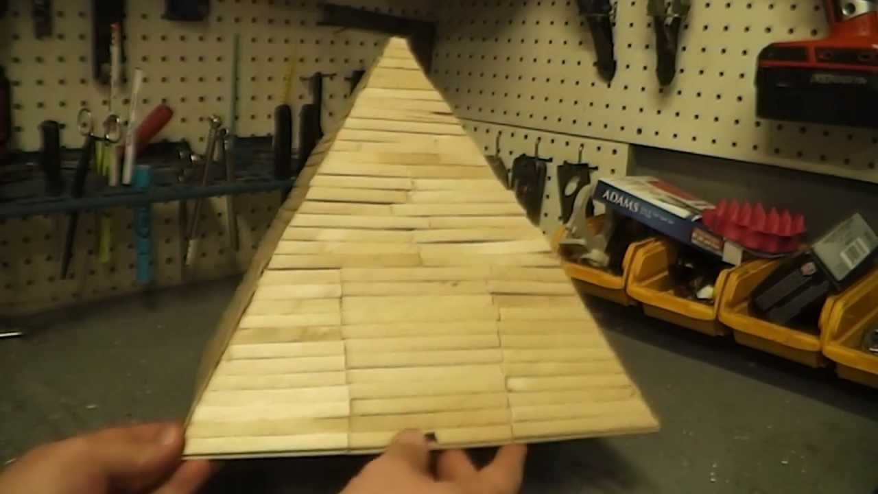 Popsicle Stick Pyramid With Firecrackers Youtube