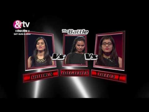 Meghana Vs Rithika Vs Deepa | Battle Round | Sneak-Peek | The Voice India S2 | Sat-Sun, 9 PM