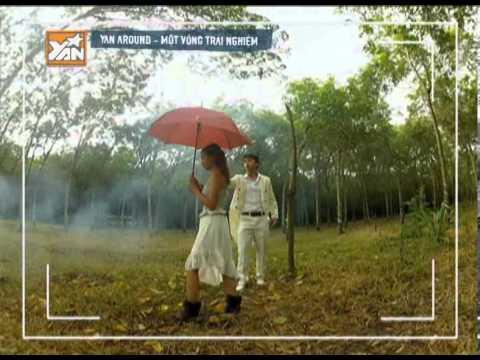 YANTV YAN AROUND Quang Bảo  và Kim Nhã quay clip ca nhạc