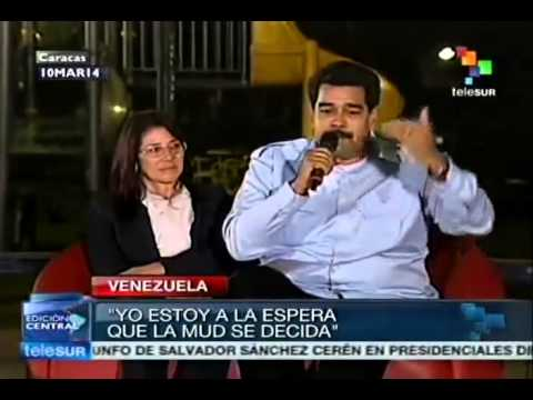 Nicolas Maduro calls opposition to talk