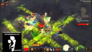 Diablo III: ROS Crusader T6 Rift Solo Clear In 10 Min