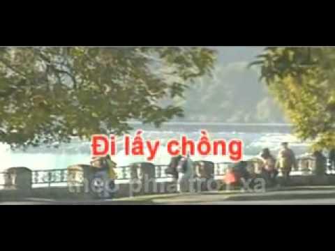 KARAOKE CON SAO SANG NGANG  Hat Voi ( MyHang )