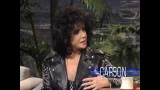 Johnny Carson: Liz Taylor on Marriage,1991