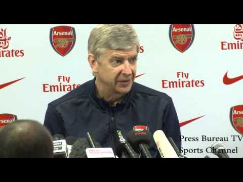 Arsene Wenger pre Everton vs Arsenal