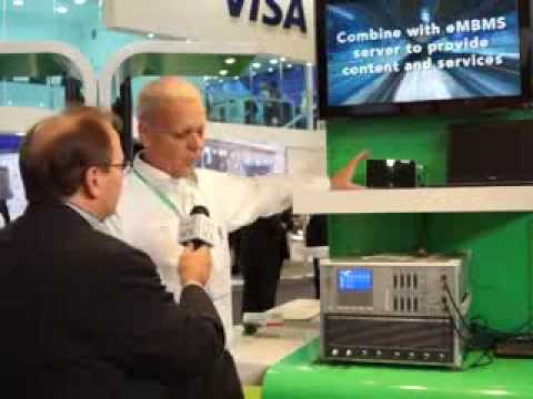 #MWC14 Anritsu: eMBMS technology and MD8430 Base Station Emulator