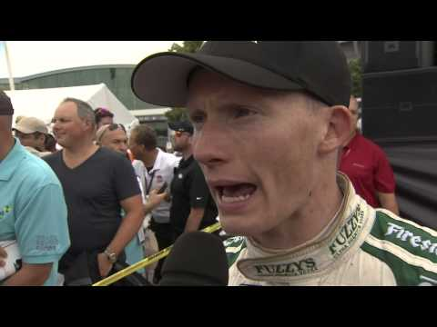 Mike Conway, king of the road races