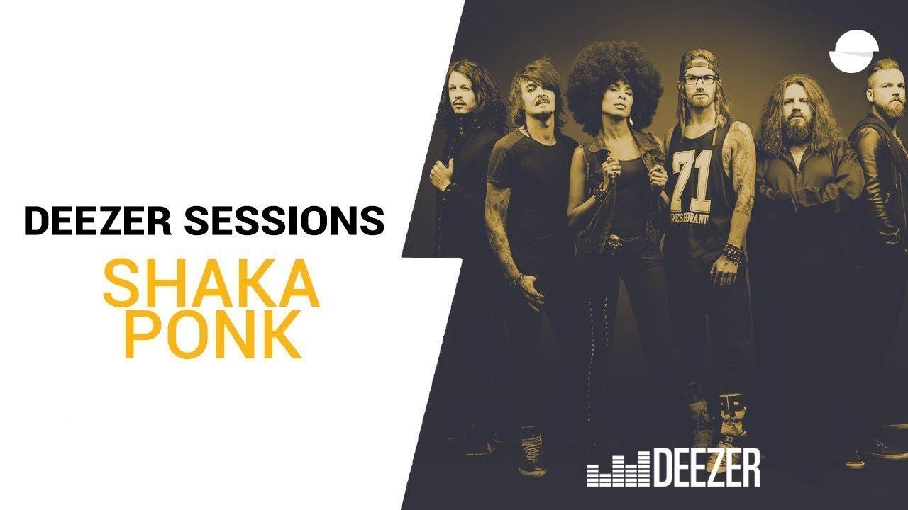 Shaka Ponk – Lucky G1rl (live)