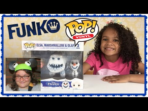 Disney Frozen FUNKO POP 3-Pack Vinyl Review ~ Gift from Robin and Penny