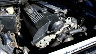 Звук работы двигателя M52B20