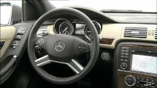 All new Mercedes R-Class 2011 Facelift Interior videos