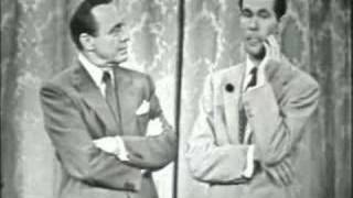Jack Benny Gives Johnny Carson Advice