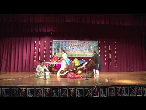 "CAA - 2017 AP Cultural Festival - Oct 14th 2017 - Item-31 ""Veena REcital by Sri Srinivas Meduri"" Fusion"