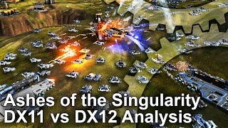 Ashes of the Singularity - DirectX 12 vs DX11 Tech Analysis