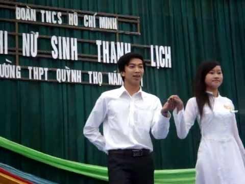 Nữ sinh thanh lịch THPT Quỳnh Thọ - 26/3/2011