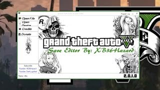 GTA 5 Hazard's Save Editor Sur PC Ou MAC [FR]