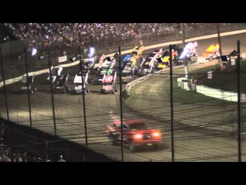 Grandview Speedway PA Speedweek Highlights 7-01-14