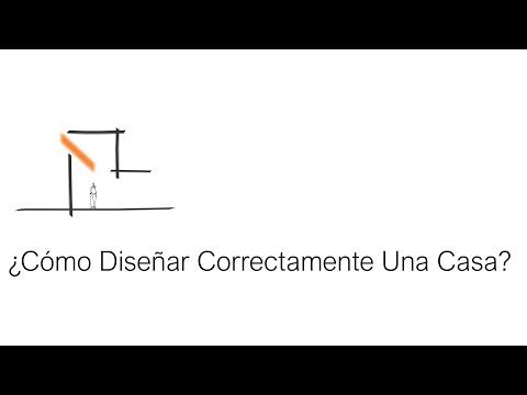¿Cómo Diseñar Correctamente Una casa? Tutorial - Arquitecto Martín Bonari