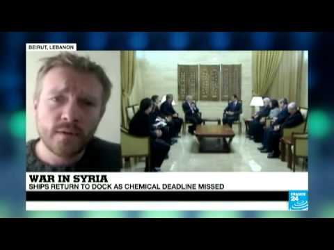 Syria: chemical weapons ships divert to Cyprus as deadline missed