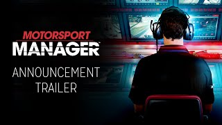 Motorsport Manager - Announcement Trailer
