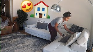 MOVING & UNPACKING INTO MY NEW LA PENTHOUSE! VLOGMAS DAY 11