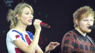 Taylor Swift with Ed Sheeran London, Lego House, London O2
