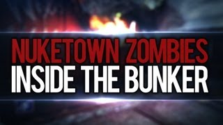 Nuketown Zombies Inside The Bunker & Under The Map