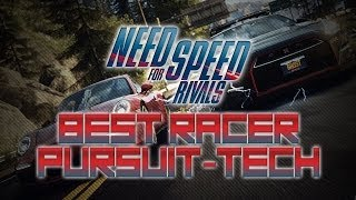Need for Speed Rivals | Best Racer Pursuit Tech