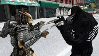 Predator vs Venom - EPIC BATTLE - Grand Theft Auto