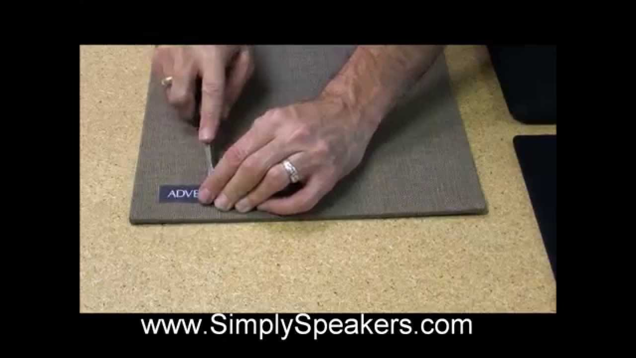 Speaker Repair Grill Cloth And Fabric Replacement Youtube