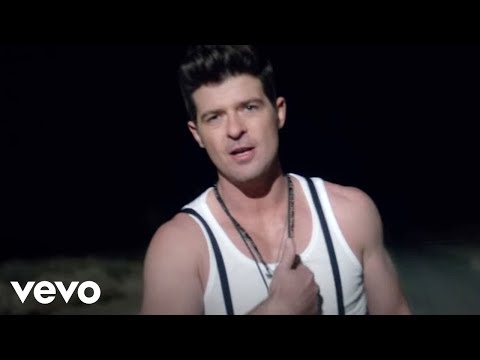 Смотреть клип Robin Thicke ft. Lil Wayne - Pretty Lil' Heart