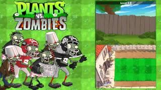 Let's Play Plants Vs Zombies Nintendo DS Parte 1