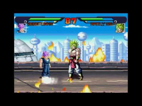 DBAF Saga Evil Goku Ep 2: Vegetunks a incrivel fusão. Broly e Bojack uma fusão muito poderosa