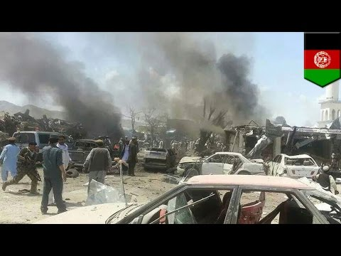 Afghanistan suicide blast kills at least 89