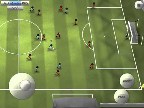 [Stickman Soccer] Uruguay 2-0 Russia