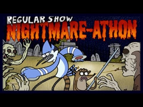 Regular Show - Nightmare Athon - Regular Show Games