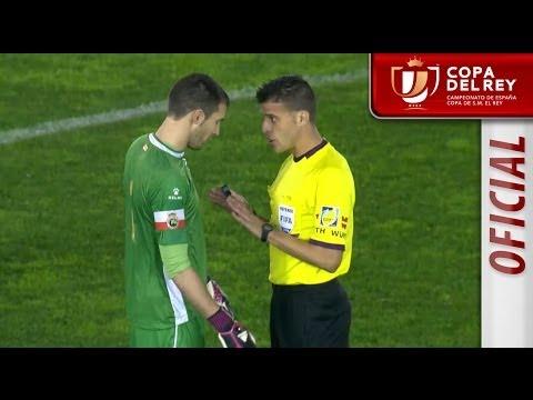 Suspendido el Racing de Santander - Real Sociedad Copa del Rey