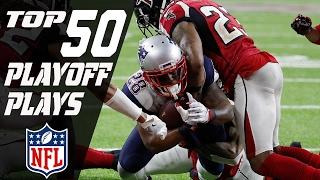 Top 50 Plays of 2016 Playoffs | NFL Highlights