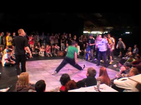 Conquistadors vs Camelot / Break dance Final / RIGA CHALLENGE 2011 / SDK.EUROPE Pre-selection