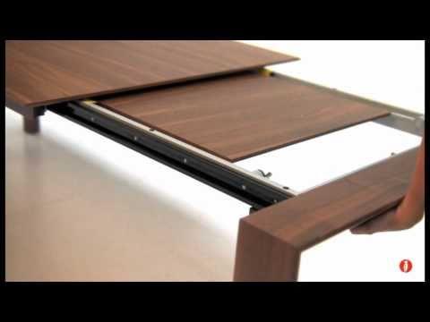 Omnia tavolo allungabile rettangolare in legno by for Calligaris tavolo allungabile