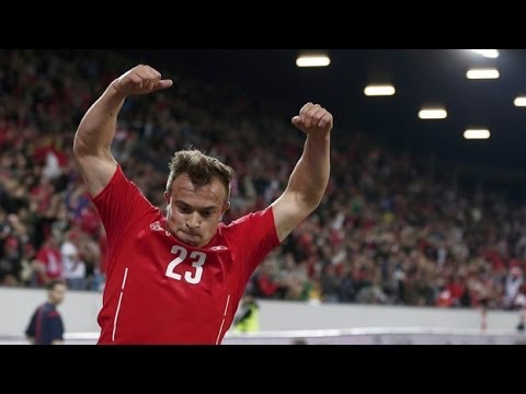 Xherdan Shaqiri vs Peru (Switzerland 2-0 Peru Highlights)