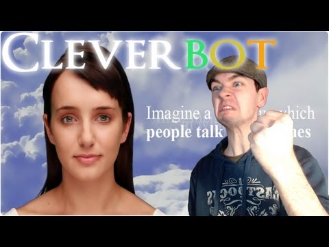Cleverbot Evie | I'M A BOT | Conversations with a machine