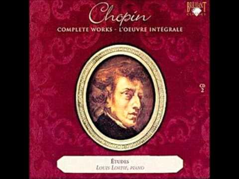 Lortie Louis Etude in E flat minor, Op. 10 No. 6