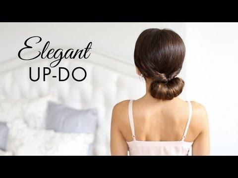 Elegant Up-Do Hair Tutorial