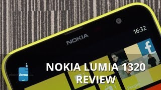 Nokia Lumia 1320 Review